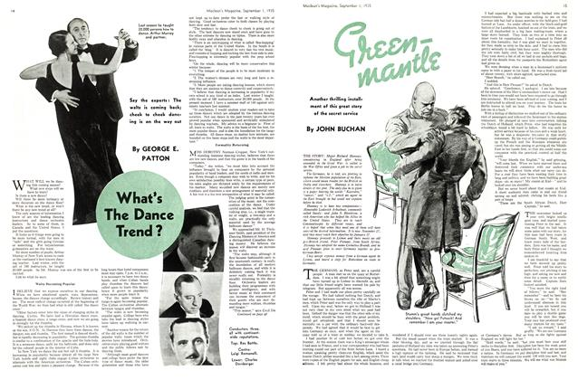 Article Preview: Green mantle, September 1st 1935 | Maclean's