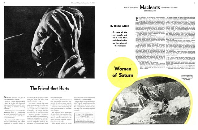 Article Preview: Woman of Saturn, September 1935 | Maclean's