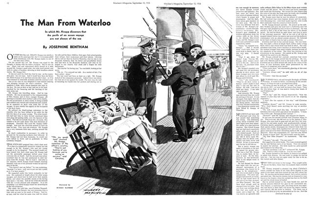 Article Preview: The Man From Waterloo, September 1935 | Maclean's