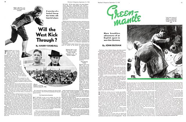 Article Preview: Green mantle, September 1935 | Maclean's