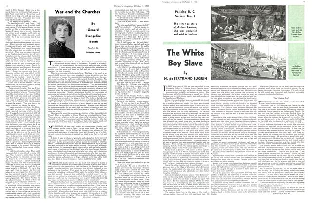 Article Preview: The White Boy Slave, October 1st 1935 | Maclean's
