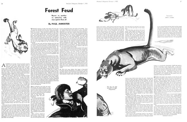 Article Preview: Forest Feud, October 1st 1935 | Maclean's