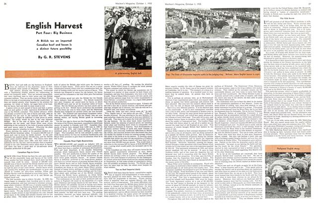 Article Preview: English Harvest, October 1st 1935 | Maclean's