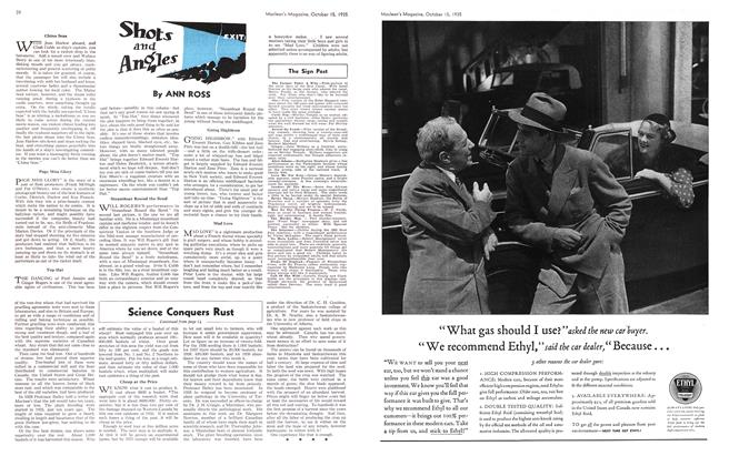Article Preview: Shots and Angles, October 1935   Maclean's