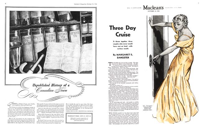 Article Preview: Three Day Cruise, October 1935 | Maclean's