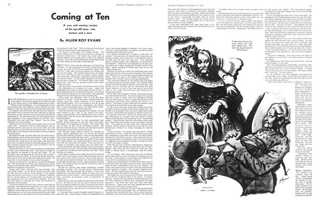 Article Preview: Coming at Ten, October 1935 | Maclean's