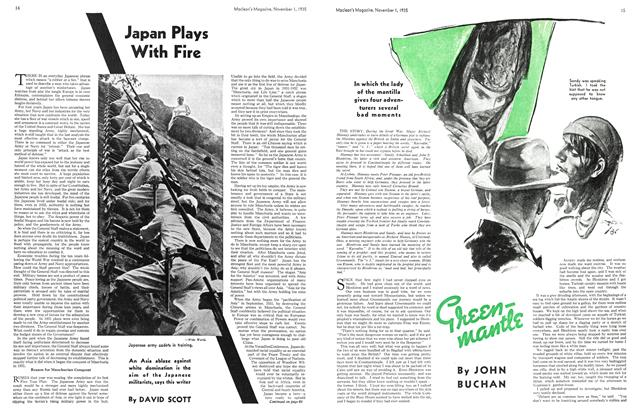 Article Preview: Greenmantle, November 1st 1935 1935 | Maclean's