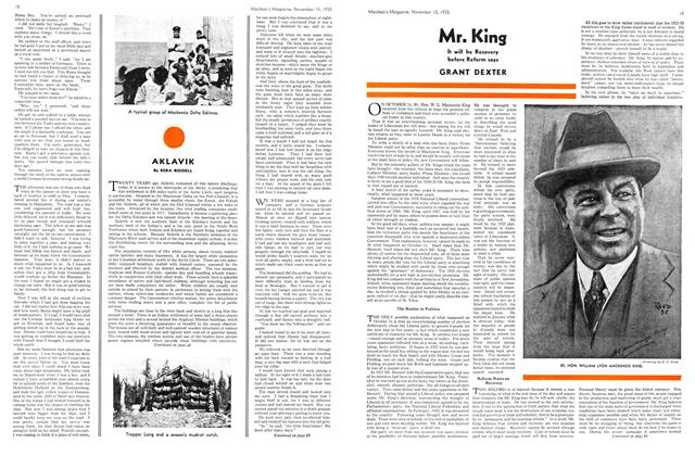 Article Preview: Mr. King, November 1935 | Maclean's