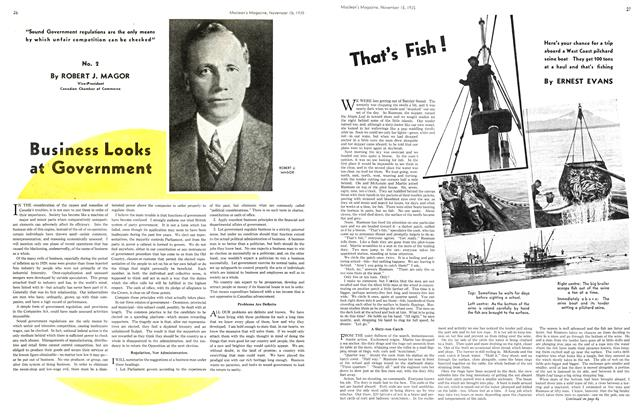 Article Preview: That's Fish!, November 1935 | Maclean's