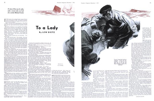 Article Preview: To a Lady, December 1st 1935 1935 | Maclean's
