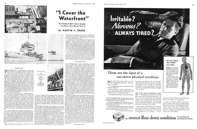 """Article Preview: """"I Cover the Waterfront"""", December 1st 1935 1935 