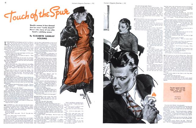 Article Preview: Touch of the Spur, December 1st 1935 1935 | Maclean's