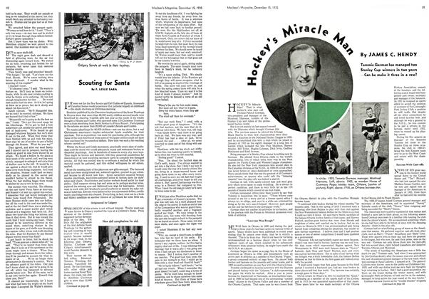 Article Preview: Hockey's Miracle Man, December 1935 | Maclean's