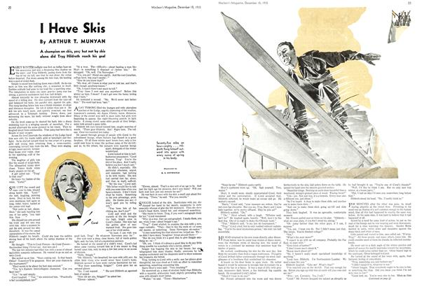 Article Preview: I Have Skis, December 1935 | Maclean's
