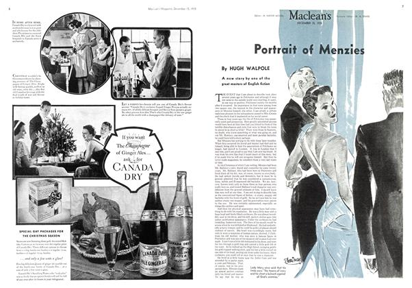 Article Preview: Portrait of Menzies, December 1935 | Maclean's