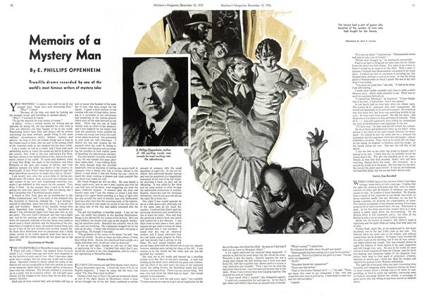 Article Preview: Memoirs of a Mystery Man, December 1935 | Maclean's