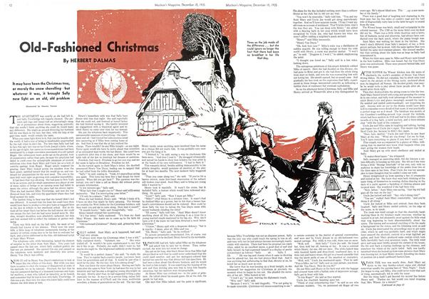 Article Preview: Old-Fashioned Christmas, December 1935 | Maclean's