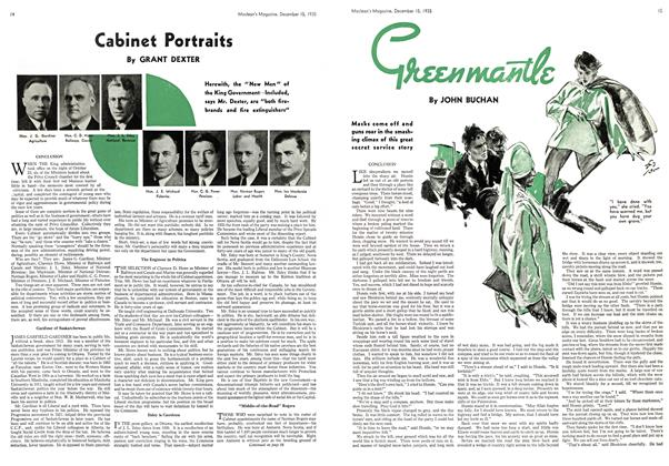 Article Preview: Cabinet Portraits, December 1935 | Maclean's