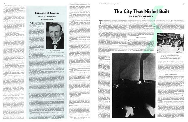 Article Preview: Speaking of Success, Jan. 1st 1936 1936   Maclean's