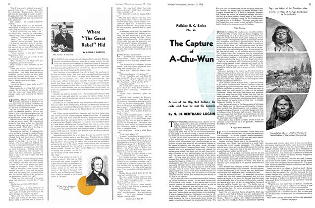 Article Preview: The Capture of A-Chu-Wun, January 1936 | Maclean's