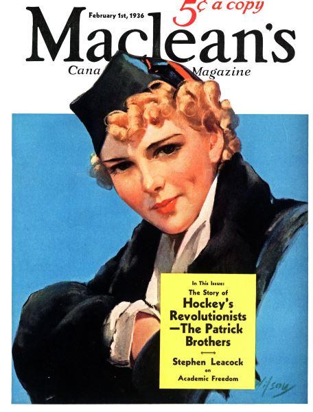 Issue: - February 1936 | Maclean's