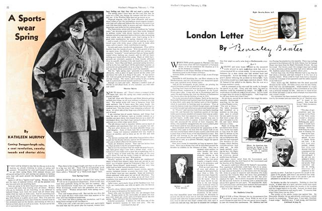 Article Preview: A Sportswear Spring, February 1936 | Maclean's