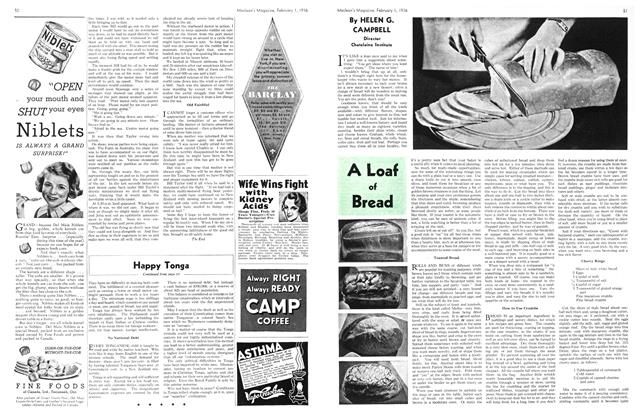 Article Preview: A Loaf of Bread, February 1936 | Maclean's