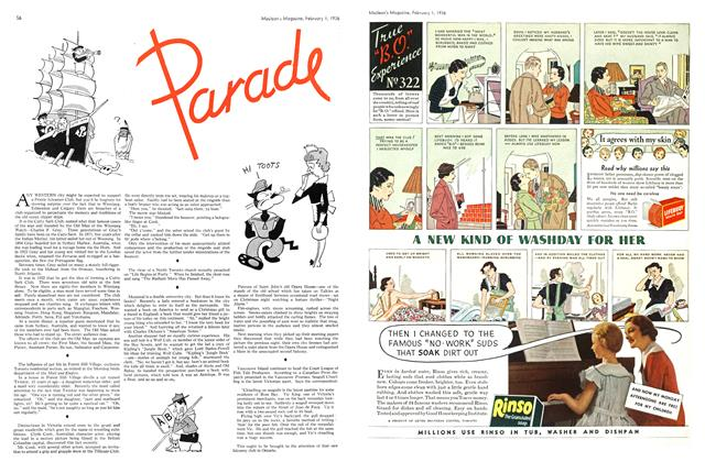 Article Preview: Parade, February 1936 | Maclean's