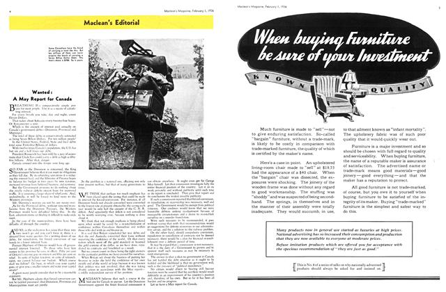 Article Preview: Maclean's Editorial, February 1936 | Maclean's