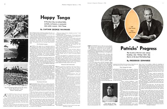 Article Preview: Happy Tonga, February 1936 | Maclean's