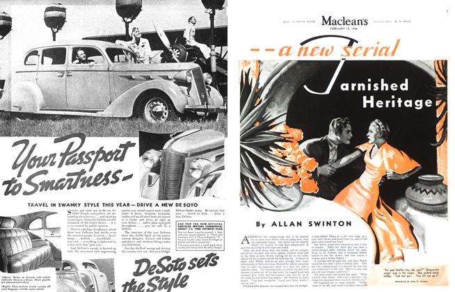 Article Preview: Tarnished Heritage, February 15,1936 1936 | Maclean's