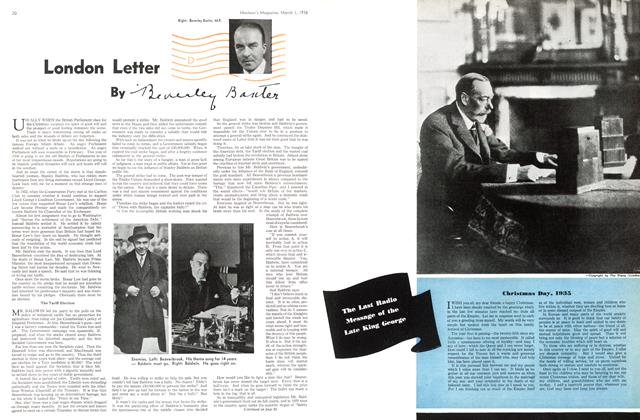 Article Preview: London Letter, March 1st, 1936 1936 | Maclean's