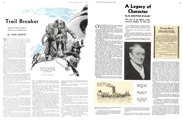 Article Preview: A Legacy of Character, March 1st, 1936 1936 | Maclean's