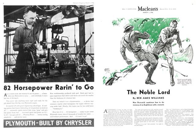 Article Preview: The Noble Lord, March 1st, 1936 1936 | Maclean's