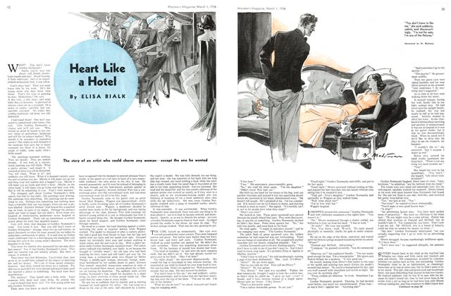 Article Preview: Heart Like a Hotel, March 1st, 1936 1936 | Maclean's