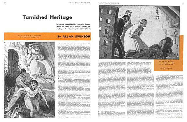 Article Preview: Tarnished Heritage, March 1936 | Maclean's