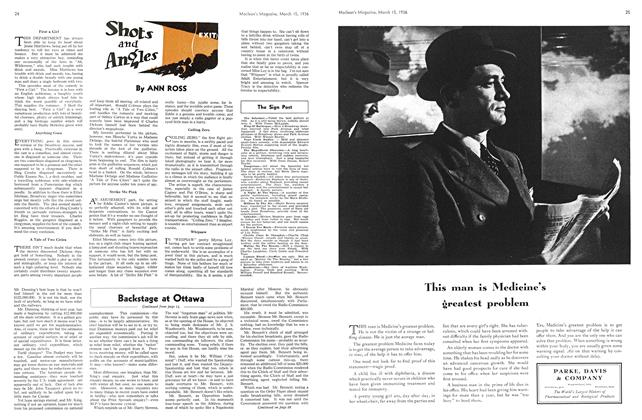 Article Preview: Shots and Angles, March 1936 | Maclean's