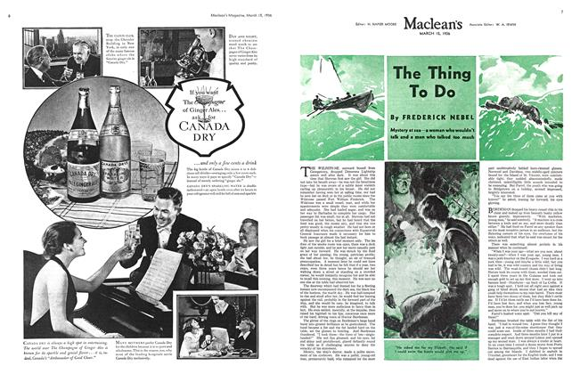 Article Preview: The Thing To Do, March 1936 | Maclean's