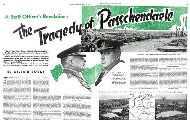Article Preview: A Staff Officer's Revelation: The Traqedu of Passchendaele, March 1936 | Maclean's