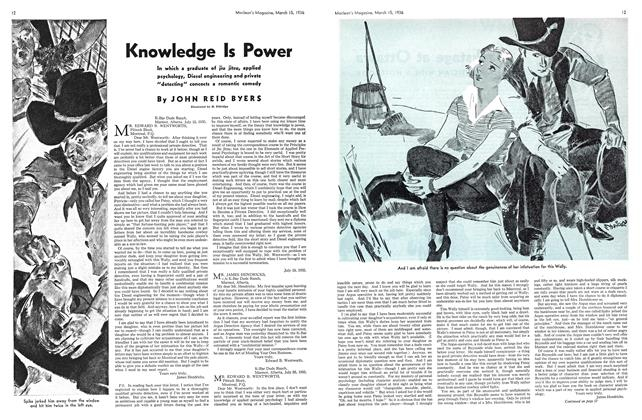Article Preview: Knowledge Is Power, March 1936 | Maclean's