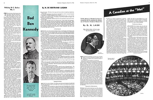 Article Preview: Bad Ben Kennedy, March 1936 | Maclean's