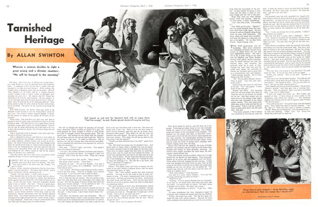 Article Preview: Tarnished Heritage, April 1st, 1936 1936 | Maclean's