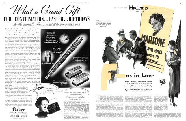 Article Preview: F-as in Love, April 1st, 1936 1936 | Maclean's