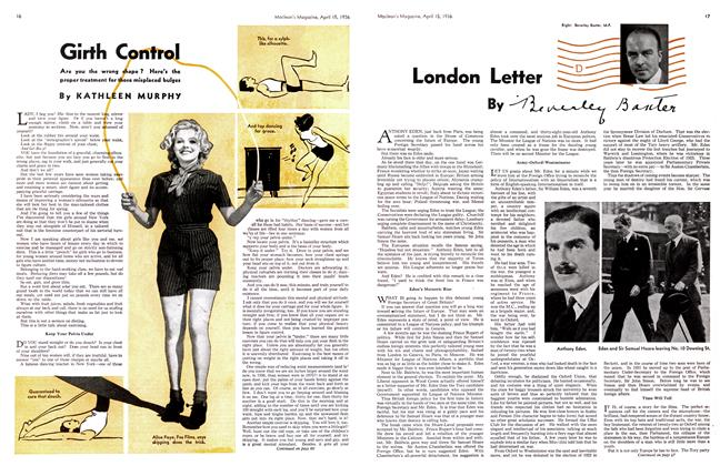 Article Preview: London Letter, April 1936 | Maclean's