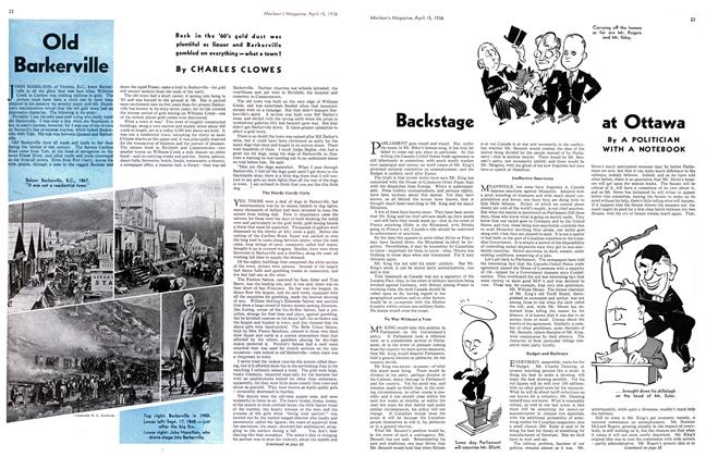 Article Preview: Old Barkerville, April 1936 | Maclean's