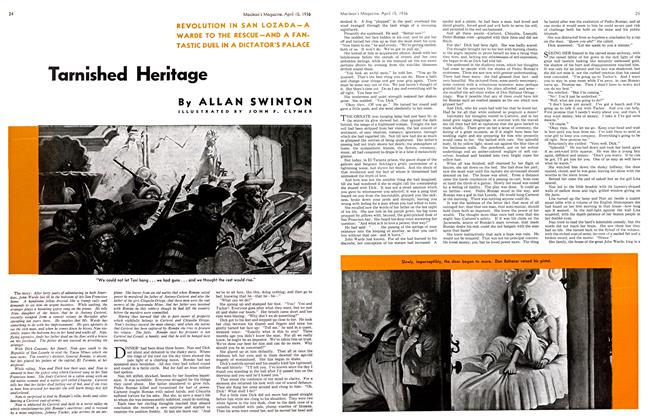 Article Preview: Tarnished Heritage, April 1936 | Maclean's