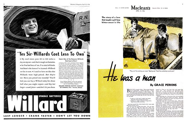 Article Preview: He was a man, April 1936 | Maclean's