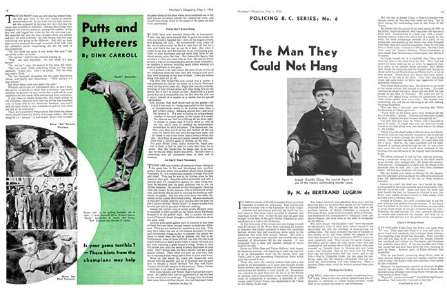 Article Preview: The Man They Could Not Hang, May 1st, 1936 1936 | Maclean's
