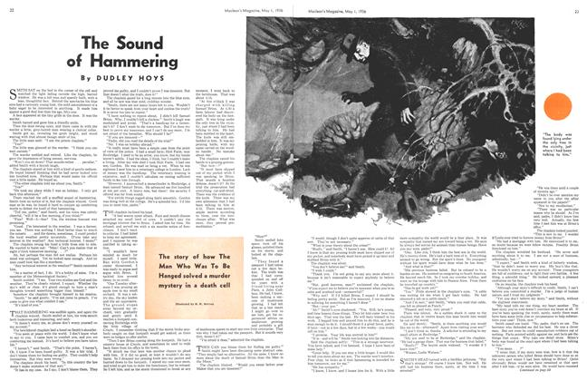 Article Preview: The Sound of Hammering, May 1st, 1936 1936 | Maclean's