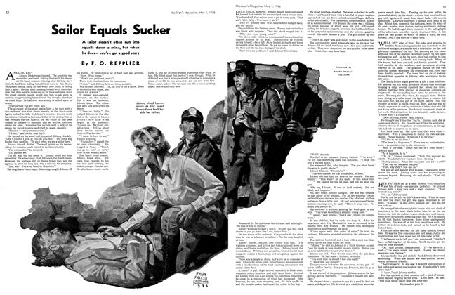 Article Preview: Sailor Equals Sucker, May 1st, 1936 1936 | Maclean's